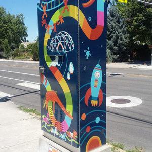 Brandalyn Athons traffic box photo 1