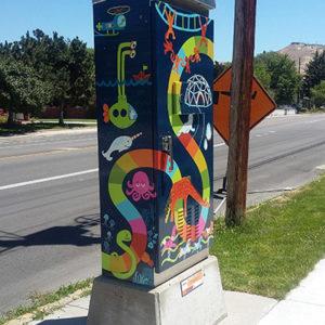Brandalyn Athons traffic box photo 2