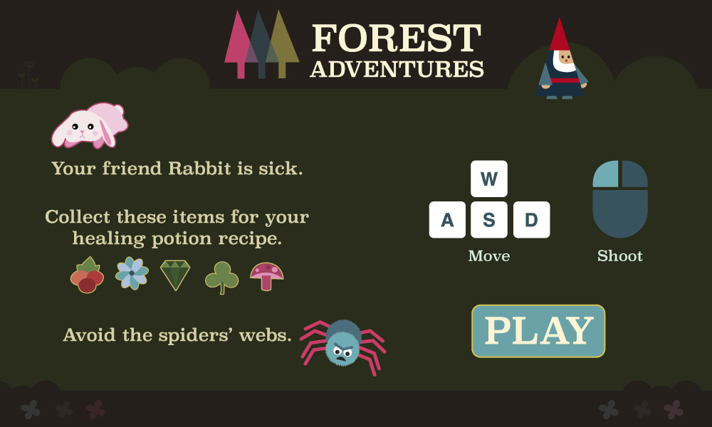 forest game play